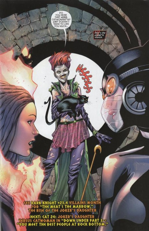 Catwoman-23-spoiler-welcome-Jokers-Daughter-debut
