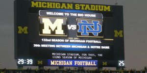 Michigan vs. Notre Dame